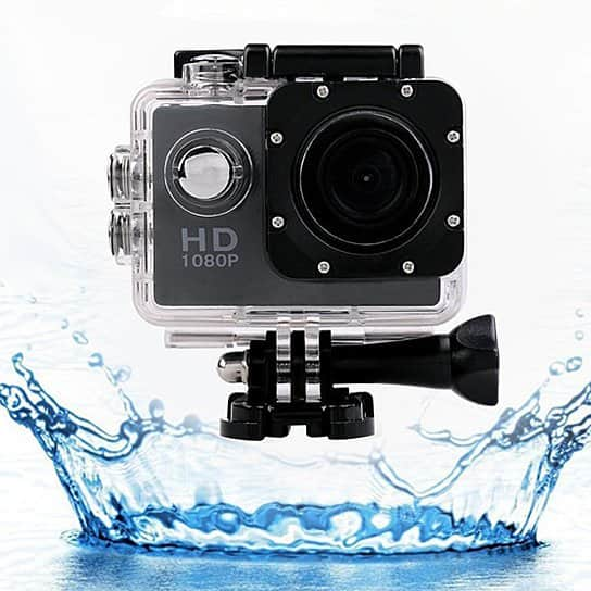 All PRO HD 1080P Action Sports Camera with Waterproof Accessory Pack, $30 (Reg. $150)