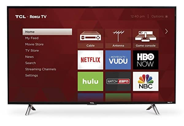 """Amazon Prime Day deal - TCL S305 720p Roku Smart LED TV (2017 Model) - 28"""" - $120, 32""""- $125, 43"""" - $215, 49"""" - $270"""