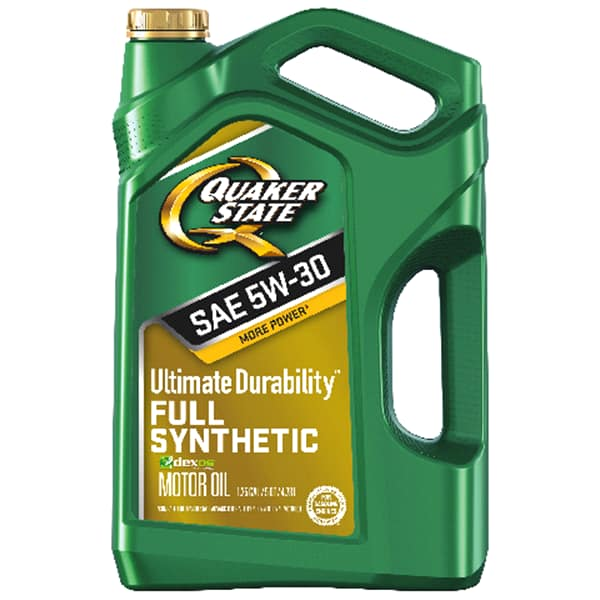Quaker State Ultimate Durability-Full Synthetic Oil- 5 Qt. Jug for $2.99 @ Meijers with MPerks and AR