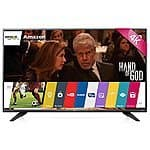 "LG 55"" 4K Smart TV 55UF7600 + LG 32"" 720p TV 32LF500B + $300 Dell Gift Card $1249.99 + Free Shipping"