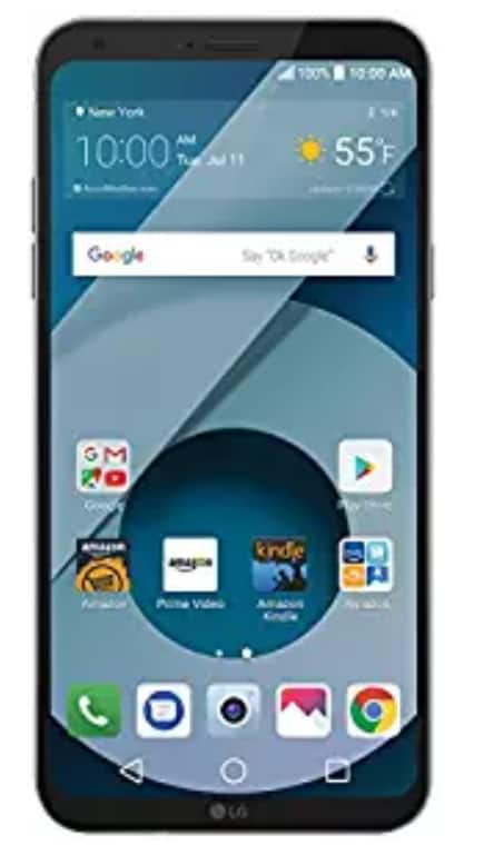 "LG Q6 32 GB Unlocked (AT&T/T-Mobile) 5.5"" Smartphone - Amazon Prime Exclusive $159.99"
