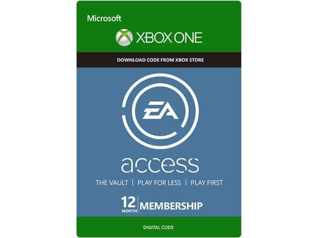 12-Month EA Access Subscription (Xbox One Digital Code) $24.99