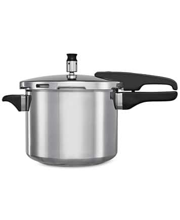 Bella 5 QT Stovetop Pressure Cooker $9.99 After $10 Rebate + Free InStore Pickup - Macys