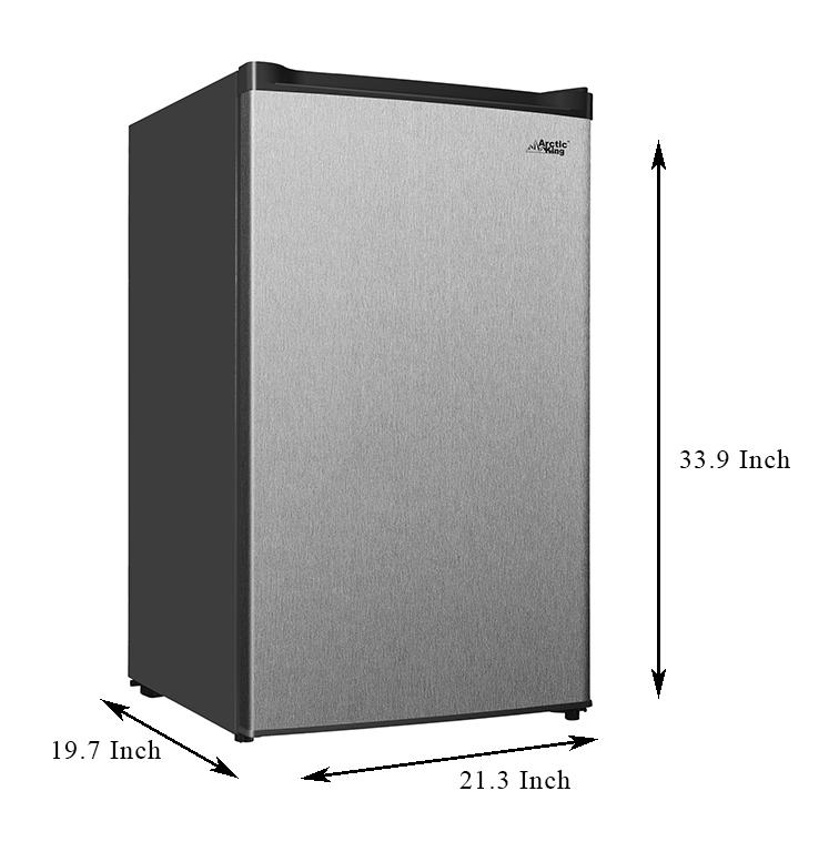 Freezer stainless upright walmart 7.0cf $300 3.0 $179