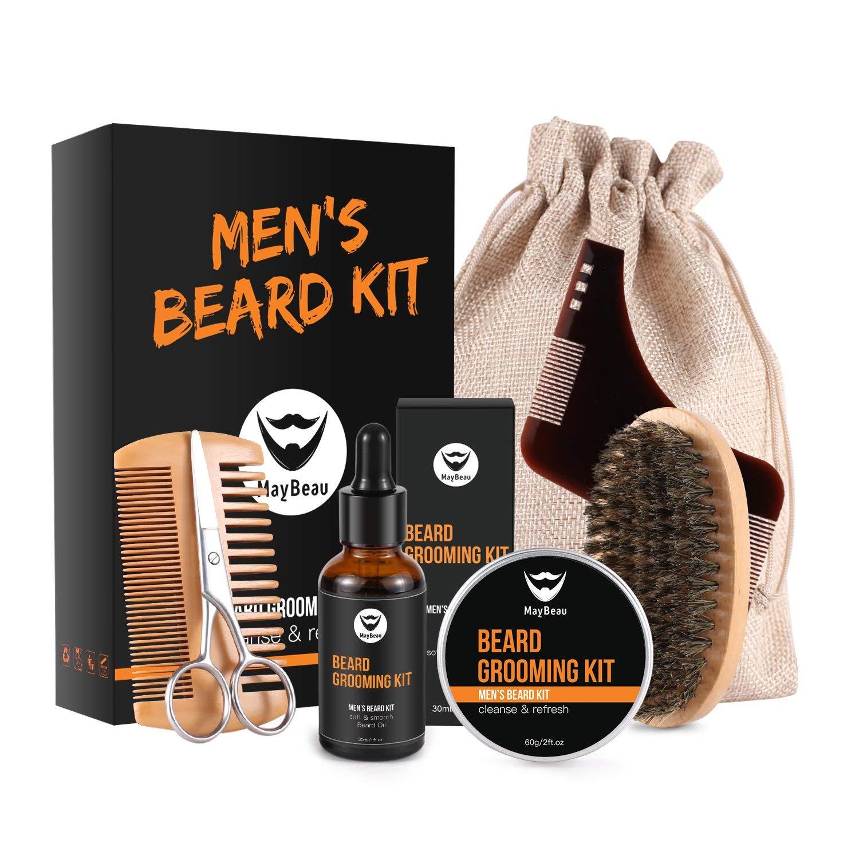 Men's Beard Growth Grooming & Trimming Kit $13.99 @Amazon