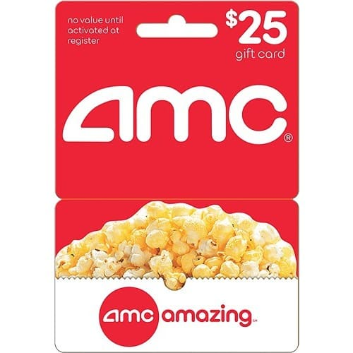 $25 AMC gift card for $21.25 from Best buy Free S&H or instore