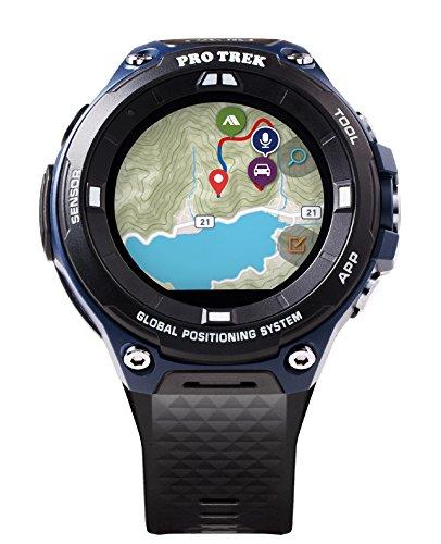 Amazon: Casio Men's Pro Trek WSD-F20A Sports Smart Watch (Black and Indigo Blue) for $129.97