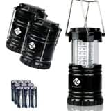 "Amazon - Etekcity 4 Pack LED Camping Lantern - $18.99 after coupon code ""GZZA83DT"""