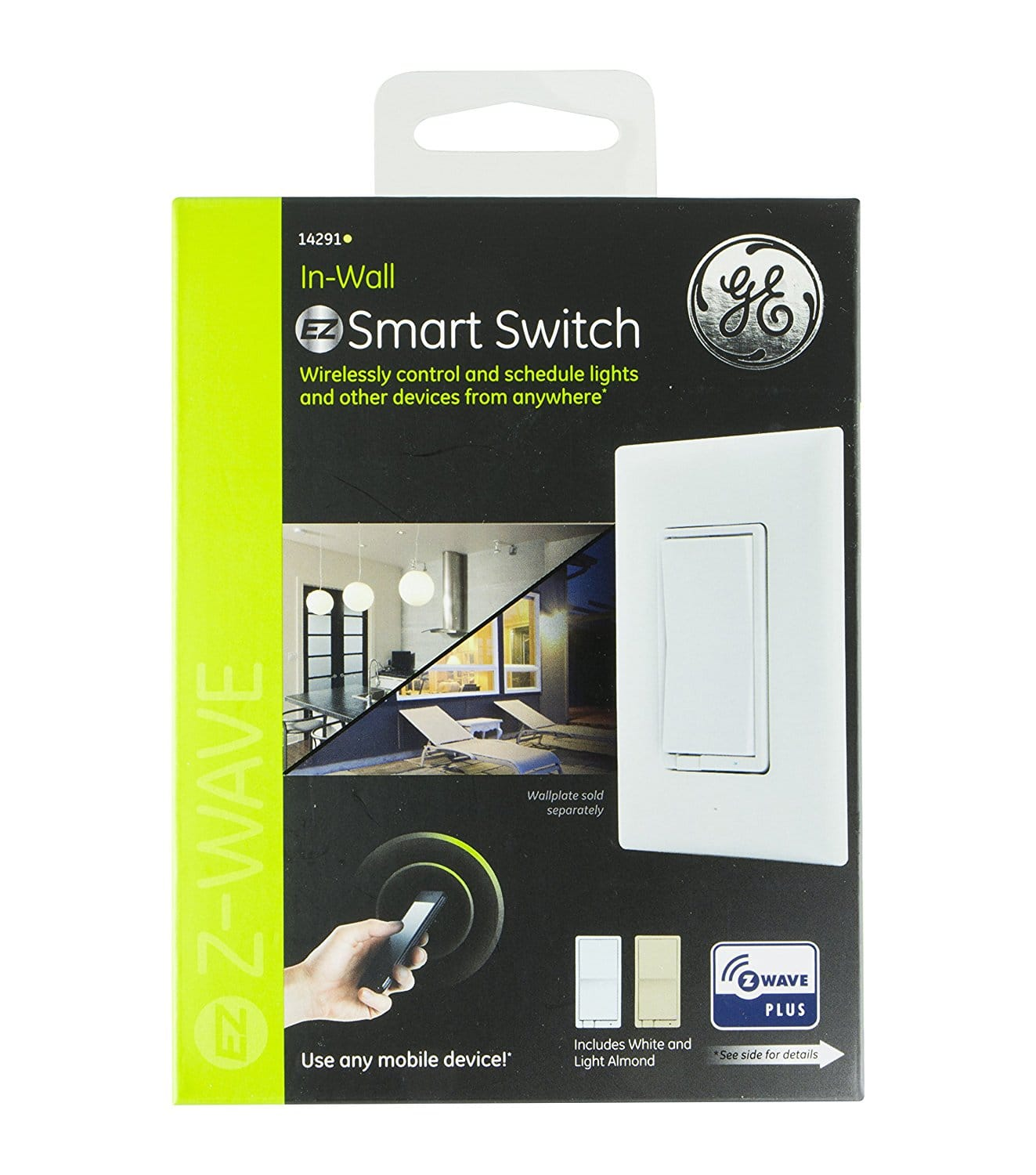 GE Z-Wave Plus Wireless Smart Lighting On/Off Switch - Slickdeals.net