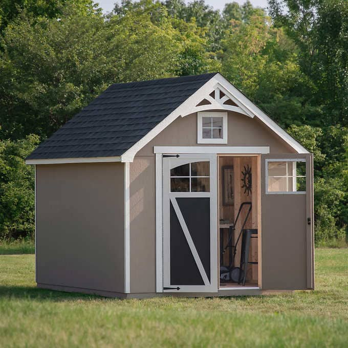 Costco - Ridgepointe 8' x 12' Wood Storage Shed $1199.99
