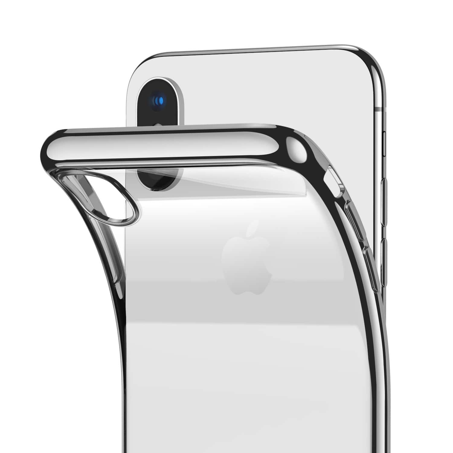 RANVOO iPhone X Case Clear Soft TPU Design, Supports Wireless Charging $1.99 AC + FS w/ Prime