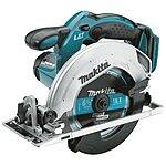 Makita XT250 LXT 18V Cordless Lithium-Ion 1/2 in. Hammer Drill and Circular Saw Kit for $169.88