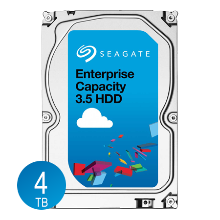 "Seagate 4TB Enterprise Desktop Hard Disk Drive - 7200 RPM SATA 6.0Gb/s 128MB 3.5"" - $119.99 via Newegg Shell Shocker"