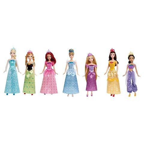 Disney Princess Ultimate Collection 7pk dolls (barbie size) $32 FS @target