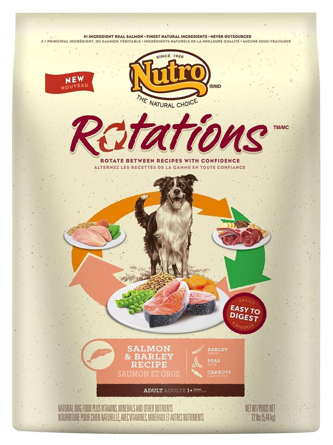 Dog Food Deals from 53c/lb: Eukanuba, Nutro, Paula Deen, Nutro Rotations Salmon $7.50 for 12lbs