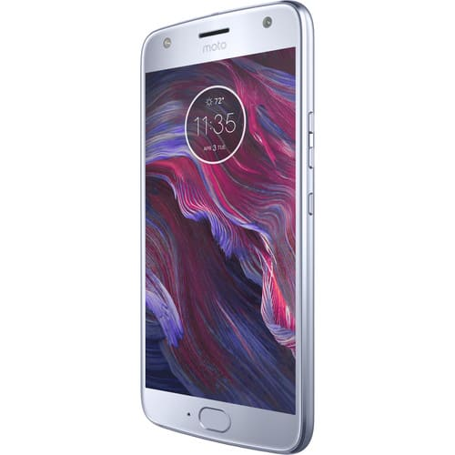 Moto X4 XT1900-1 64GB Smartphone (Unlocked, Android One, Sterling Blue) $225 after coupon