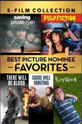 Best Picture Nominee Favorites 5-film Collection $19.99