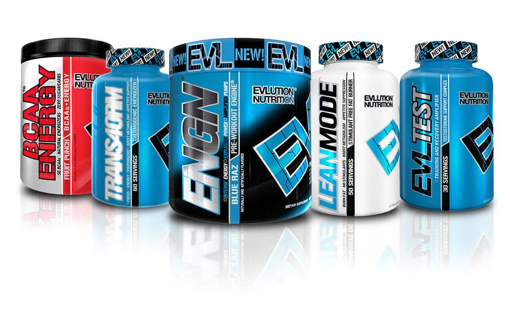 Evolution Nutrition (EVL) $40 promo code, purchase required