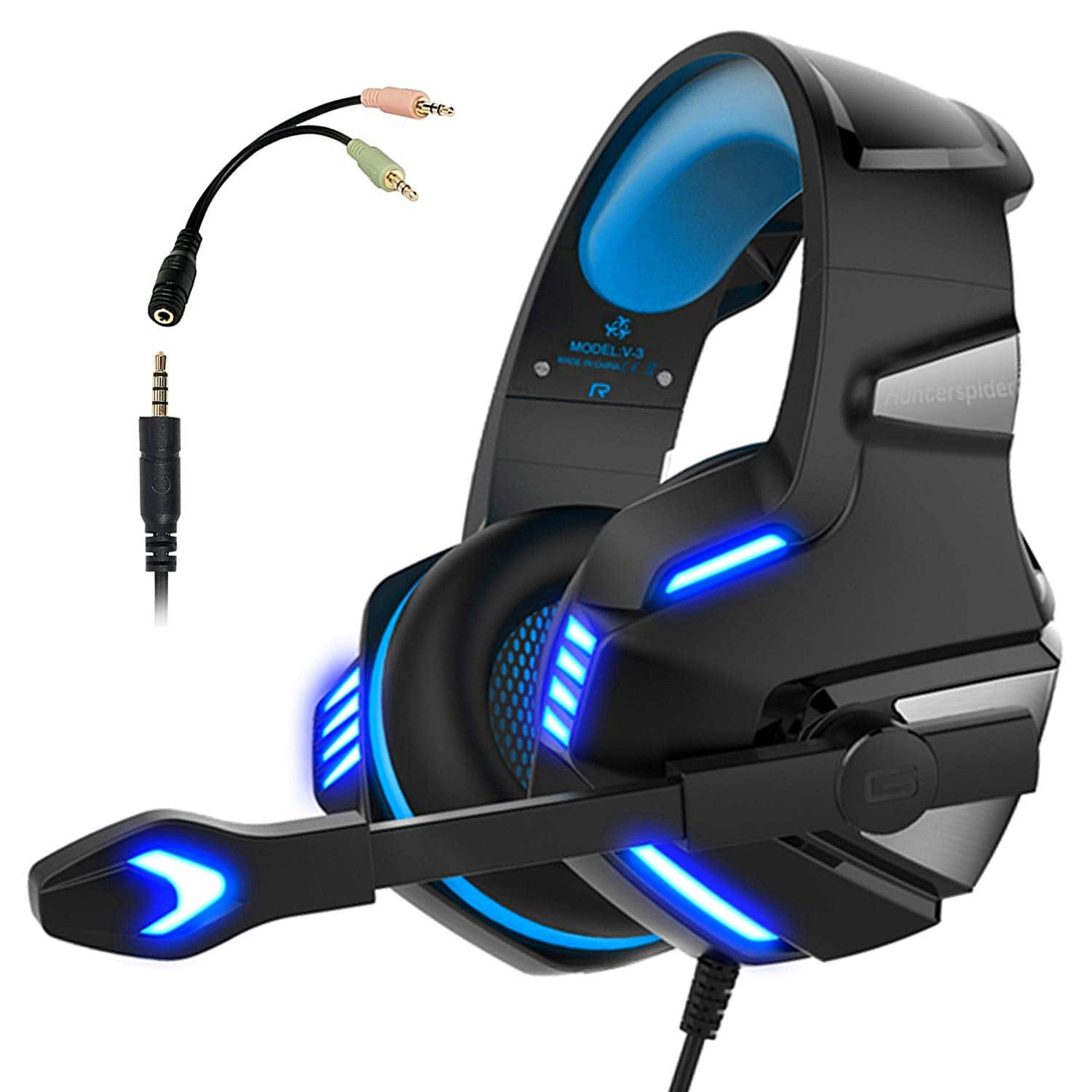Gaming Headset for PS4 Xbox One $12.49 + FS