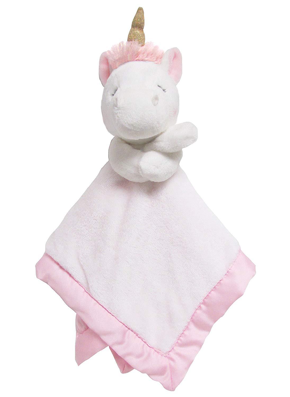 Carter's Unicorn Plush Stuffed Animal Snuggler Blanket - $6.58