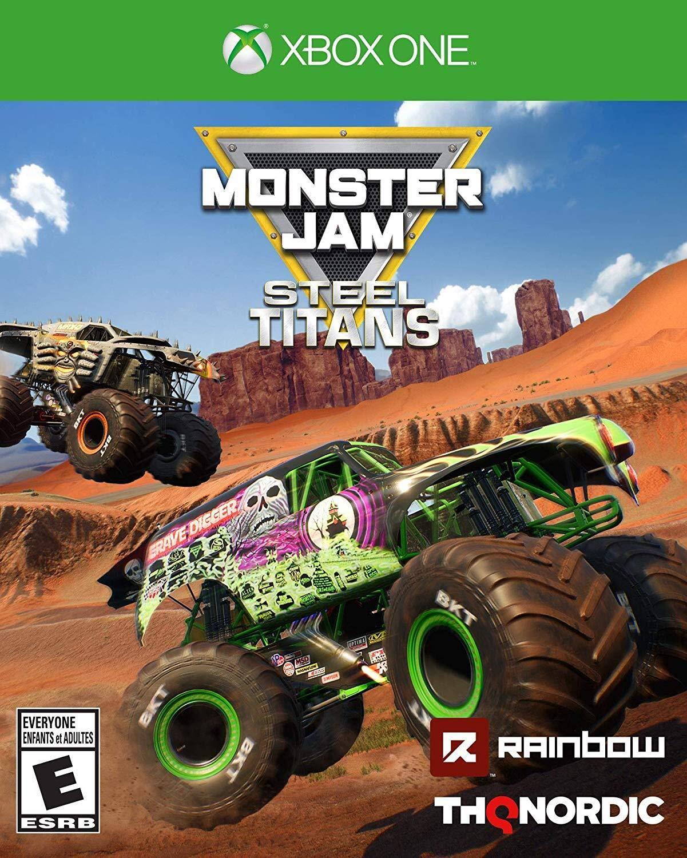 Monster Jam Steel Titans - Xbox One Standard Edition - $14.99
