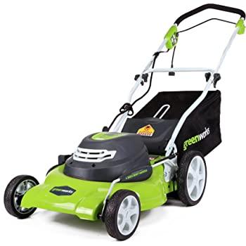 "Greenworks 20"" 3-in-1 12 Amp Corded Mower - $143"
