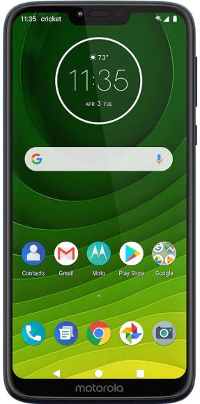 Cricket Wireless 32gb Moto G7 Supra 30 Day Prepaid Plan W