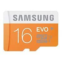 Samsung 32GB EVO Class 10 Micro SDHC up to 48MB/s with Adapter $  13.99 @Amazon FS