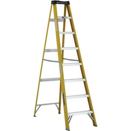 Louisville 8' ft. Fiberglass Ladder, Type I, 250 Lbs Load Capacity @Walmart for $43.22 + FS