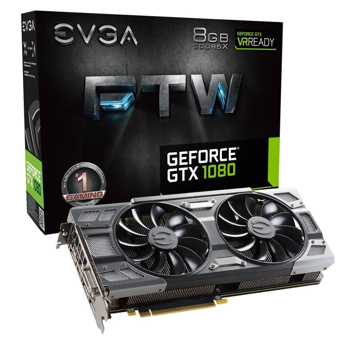 EVGA GTX 1080 FTW - $499 (or $399.99 with AMEX 20% off) $499.99