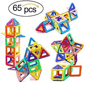 $20, 65 piece magnetic block set, FP from last week, back w/o coupon $19.99