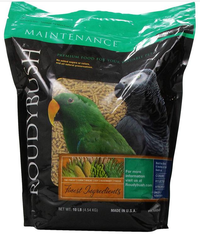 RoudyBush Daily Maintenance Bird Food,  10-Pound bags $20