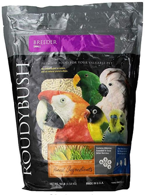 Roudybush Breeder Bird Food 10-Pounds back to $15.71 Free PrimeShipping on $25+