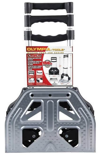 Pack-N-Roll 150 lb. Folding Hand Truck with Steel Toe Plate $15 @ Fry's & Google Express/Fry's