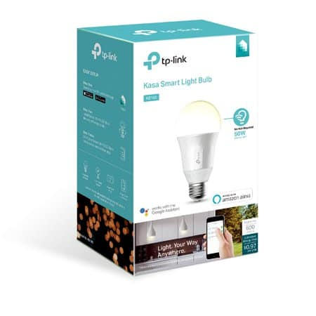 TP-Link Kasa KB100 Dimmable 2700K White Smart A19 Light Bulb $3 @ Walmart XXXtreme ymmv