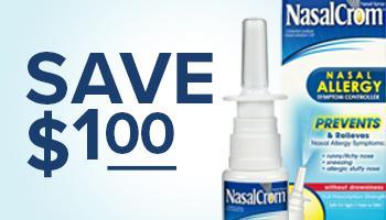 $1 off coupon for Nasalcrom Nasal Allergy Spray