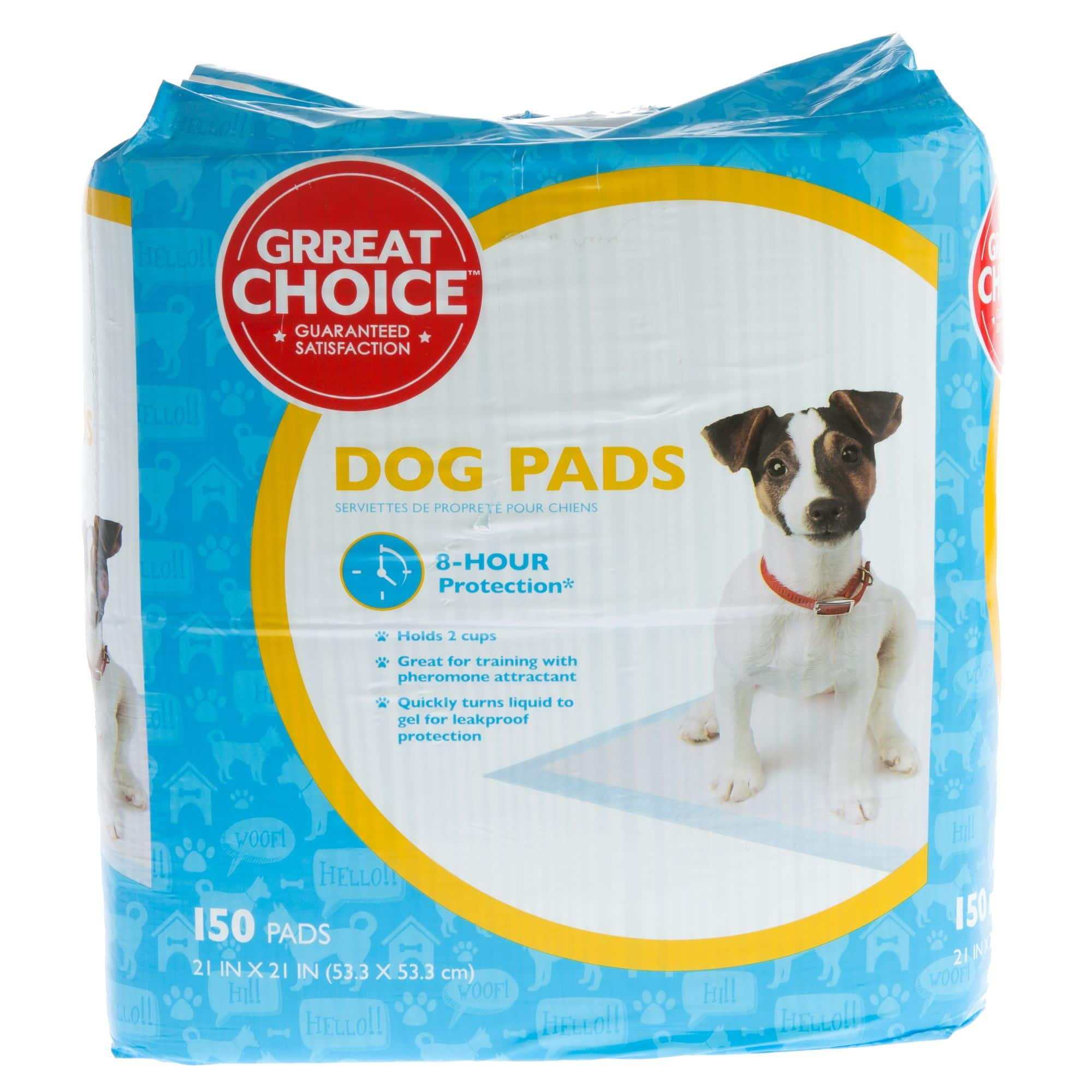 Grreat Choice® Dog Pads 150 ct $13.49 @ Petsmart