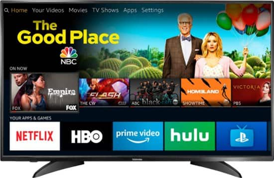 """Toshiba 43"""" LED 1080p HDTV – Fire TV Edition $179.99 @ Best Buy or Google Express"""