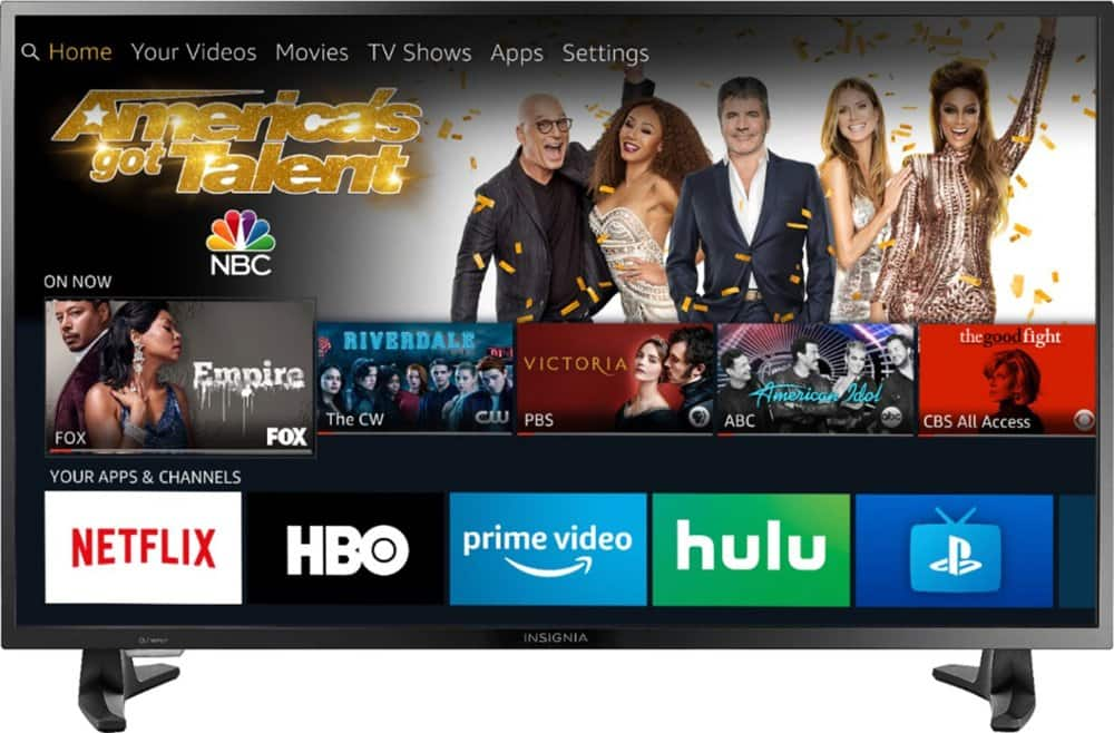 "Insignia™ 39"" Class LED 1080p Smart HDTV Fire TV Edition $150 or less  @ Best Buy & Google Play"