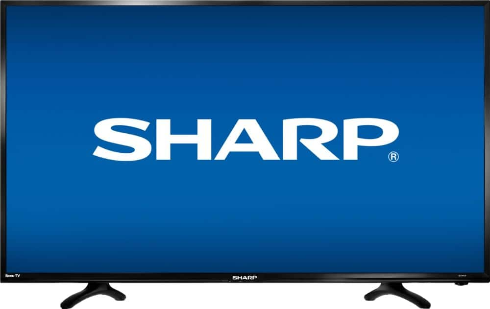 """Sharp 40"""" Class LED 1080p Smart HDTV Roku $150 @ Best Buy or Ebay"""