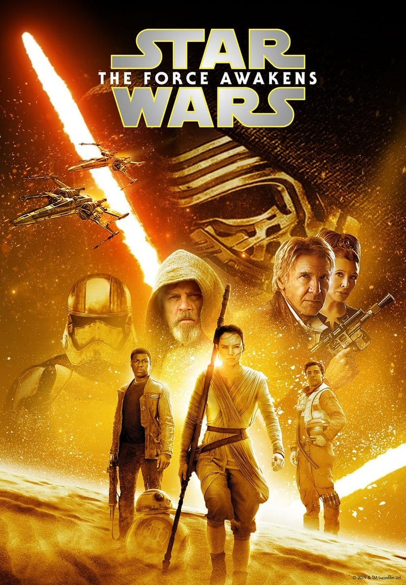 Star Wars movies [HDX Digital]  $9.99 @ Vudu