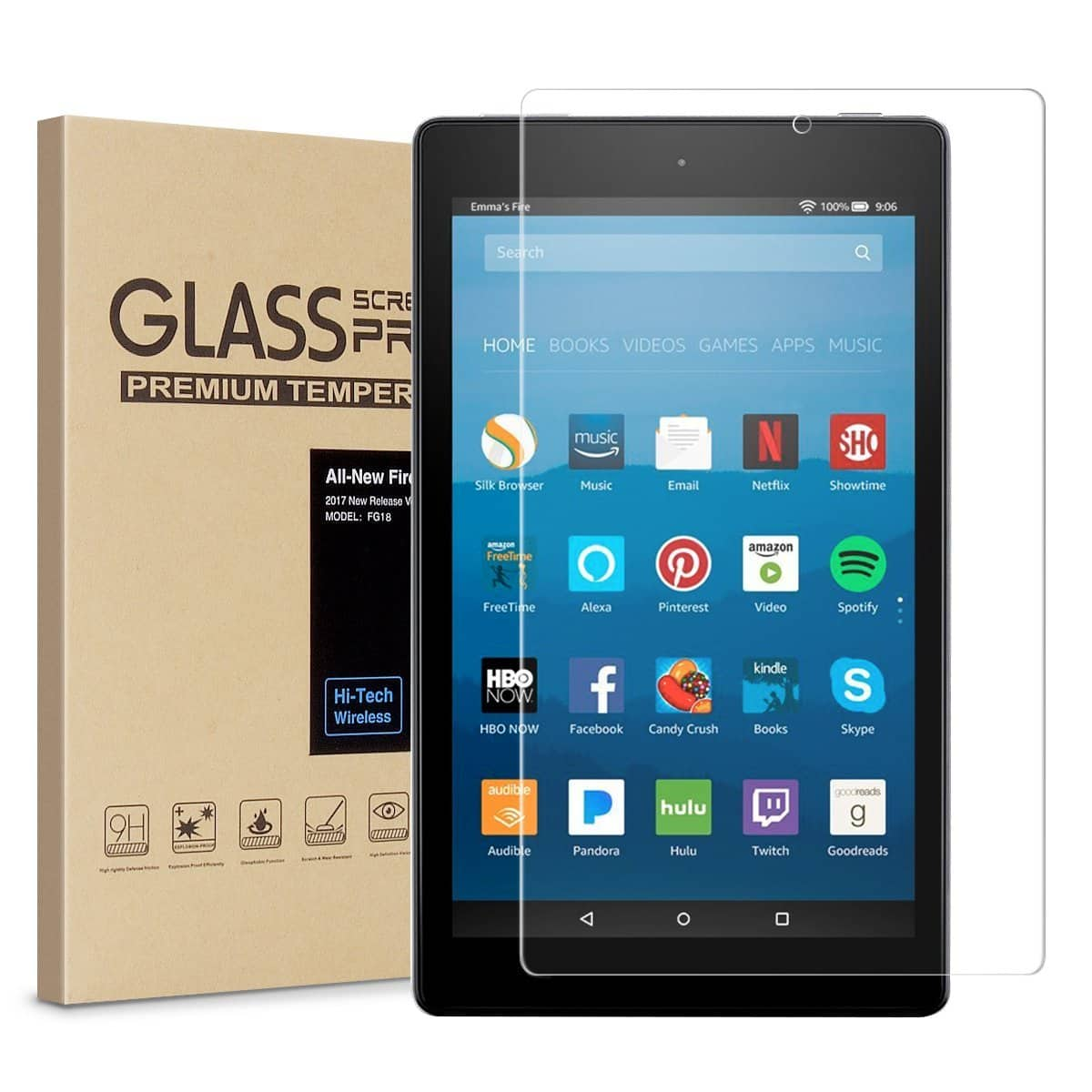 Accessories for All-New Fire 7 & HD 8 Tablet starting from $4.99 + Free Ship from USA