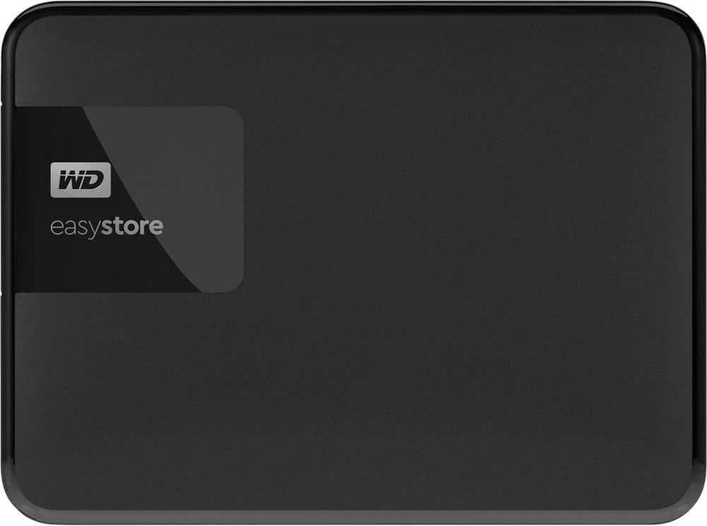 4 TB Western Digital easystore Portable External HD - $99.99 at Best Buy.com + Free Shipping
