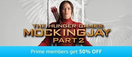 Amazon Video Movie Deals - Hunger Games, Flash n MOre at up to 55% off