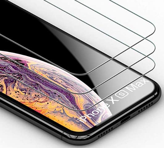 iphone xs max tempered glass case bleach