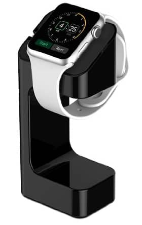 Generic Apple Watch stand for $3.99 on Amazon + free prime shipping