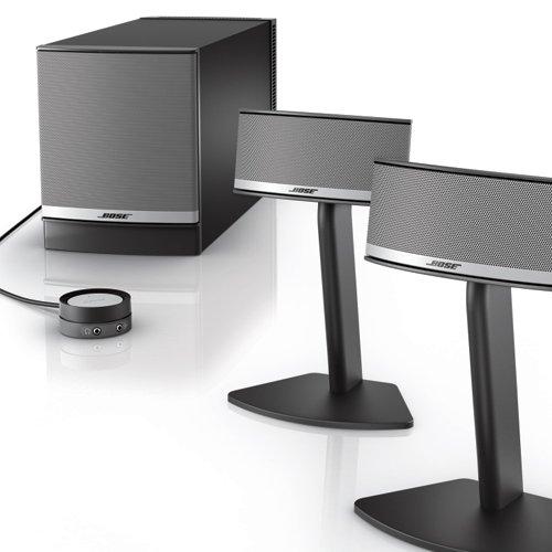 Bose Companion 5 Multimedia Speaker System – Graphite/Silver $299.99