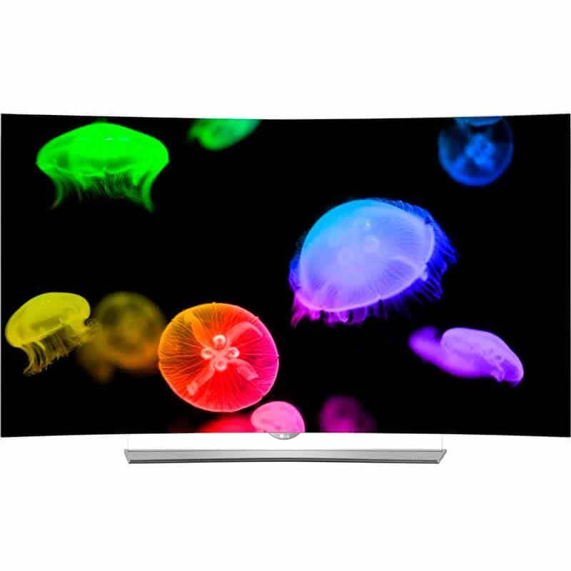 "LG 65"" EG9600 Series Curved Smart 4K UHD OLED TV  $1,200 B&M"