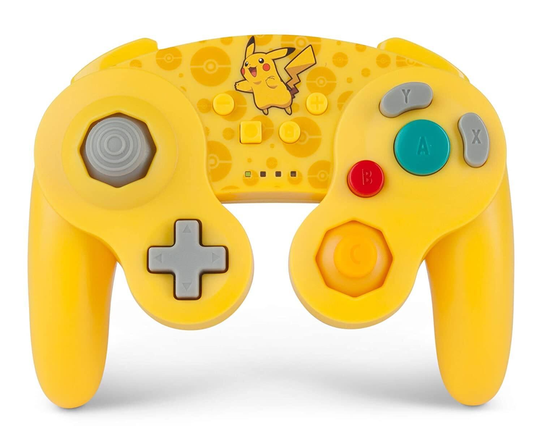 $26.99 PowerA Pokemon Wireless GameCube Style Controller for Nintendo Switch - Pikachu