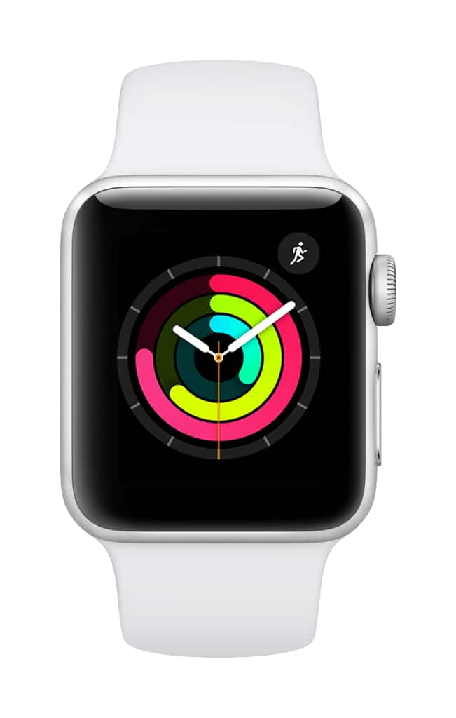 Apple Watch Series 3 GPS - 38mm - Sport Band - Aluminum Case @ Walmart.com $179.99